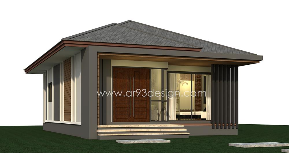 แบบบ้านสำเร็จรูปชั้นเดียว AR04-2