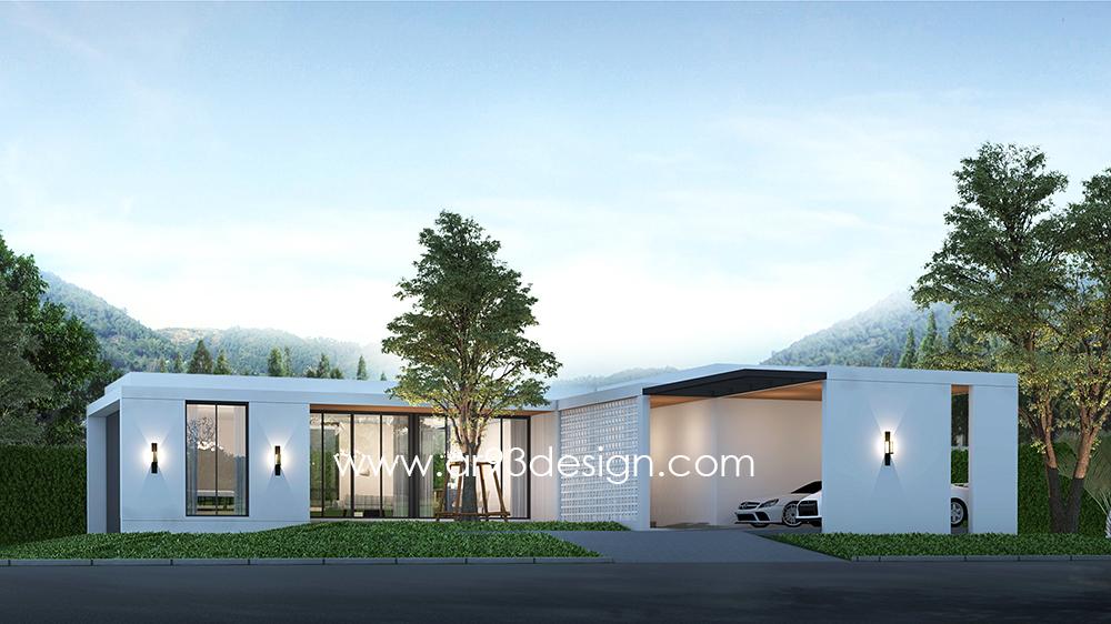 แบบบ้านสำเร็จรูป AR48